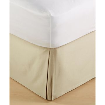 Dimensions Champagne King Bedskirt, Created for Macy's