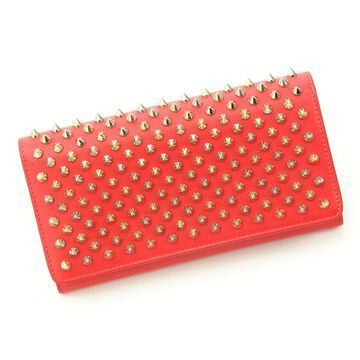 Christian Louboutin Red Leather Wallets