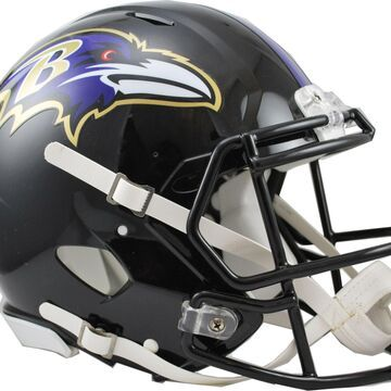 Riddell Baltimore Ravens Revolution Speed Football Helmet