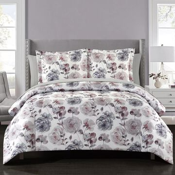 Park Lane Blossom 11-piece Reversible Comforter Set with Sheets