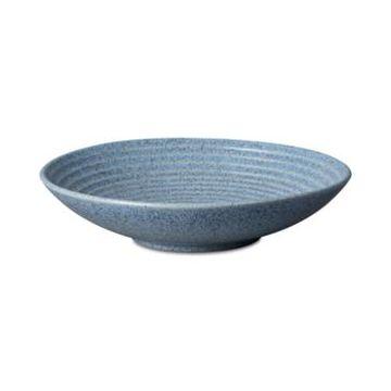 Denby Studio Blue Flint Medium Ridged Bowl