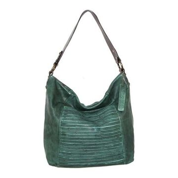 Nino Bossi Women's Jaiden Leather Shoulder Bag Green - US Women's One Size (Size None)