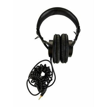 Professional Dynamic Stereo Headphones Black