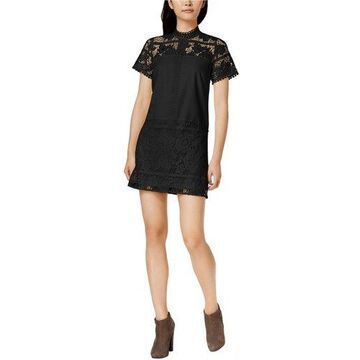 Kensie Womens Lace A-line Dress