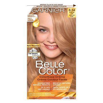 Garnier Belle Color ColorEase Creme, Honey Light Blonde 8.34