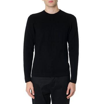 Zanone Black Wool Sweater