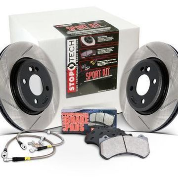 StopTech 13 For Subaru BRZ Front Slotted Sport Brake Kit