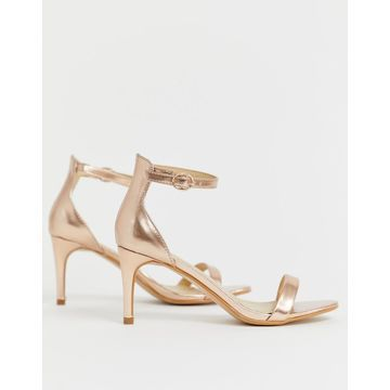 Truffle Collection kitten heel barely there sandals