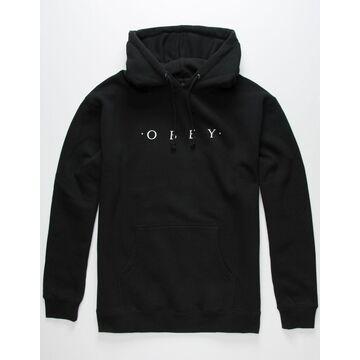 OBEY Eternal Mens Black Hoodie