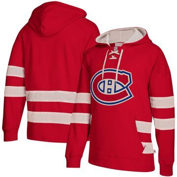 Men's CCM Red Montreal Canadiens Jersey Pullover Hoodie