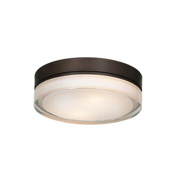 Access Lighting Solid LED 9-inch Flush Mount, Bronze