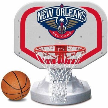Poolmaster New Orleans Pelicans NBA USA Competition-Style Poolside Basketball Game