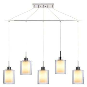 Woodbridge Lighting Alaina 5-Light Linear Pendant