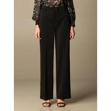 Patrizia Pepe wide trousers in crepe
