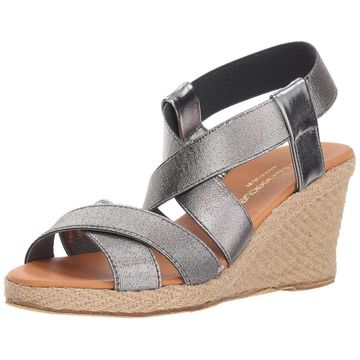 Andre Assous Womens Dalmira Open Toe Casual Ankle Strap Sandals