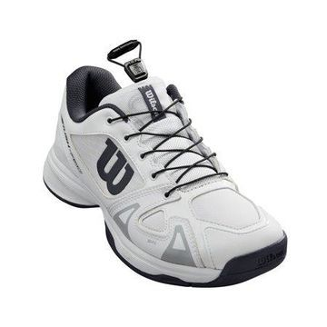 Wilson Junior Rush Pro QL Tennis Shoe, White/Ebony