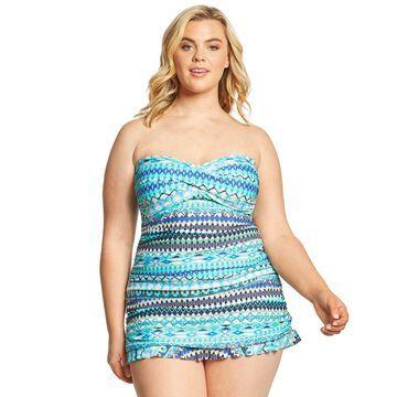 Profile by Gottex Plus Size Buena Vista Swimdress
