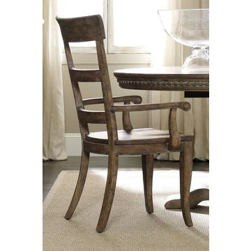 Hooker Furniture Sorella Ladderback Arm Chair