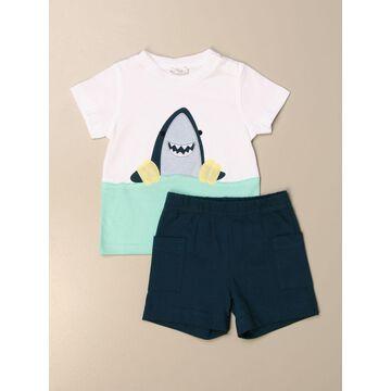 Il Gufo t-shirt + shorts set