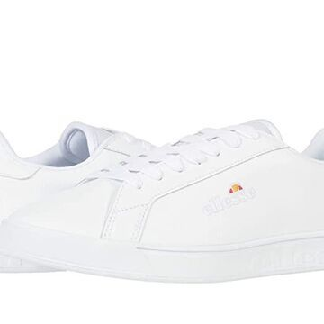 Ellesse Campo (White/White/Silver) Women's Shoes