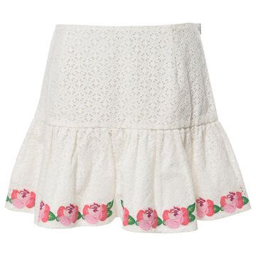 Manoush White Cotton Skirts