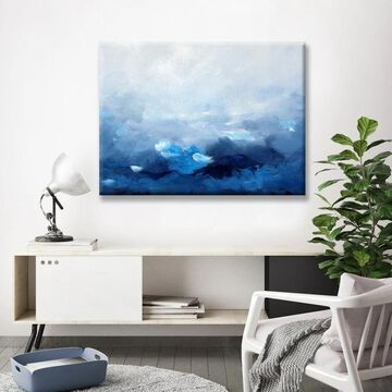 Ready2HangArt 'Wave of the World' Canvas Wall Decor by Max+E