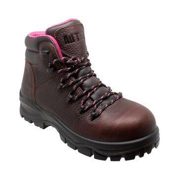 """AdTec Women's 6"""" Waterproof Soft Toe Work Boots"""
