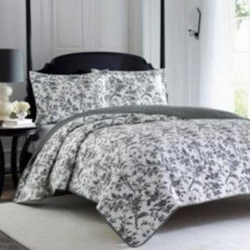Laura Ashley Twin Amberley Quilt Set Bedding