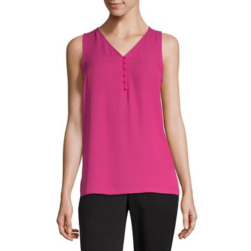 Worthington Button Front Tank - Tall