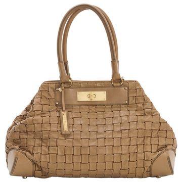 Escada Brown Leather Handbag