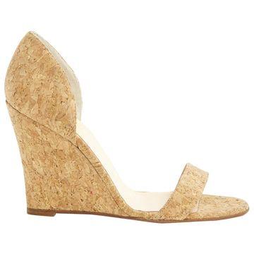 Christian Louboutin Beige Leather Heels