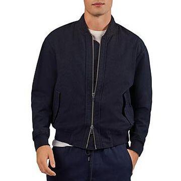 Atm Anthony Thomas Melillo Zip Front Bomber Jacket