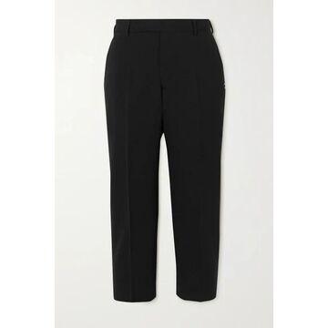 Rick Owens - Cropped Crepe Slim-fit Pants - Black