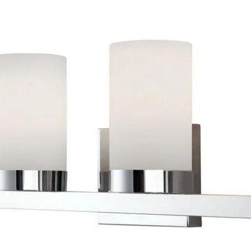 Canarm Milo 4-Light Chrome Modern/Contemporary Vanity Light | IVL429A04CH