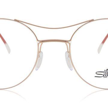 Silhouette 5508 3530 Men's Glasses Red Size 50 - Free Lenses - HSA/FSA Insurance - Blue Light Block Available