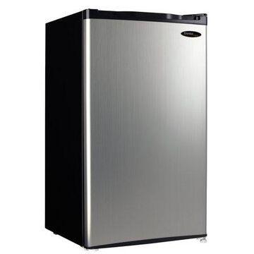 Danby 4.4 Cu Ft Compact Refrigerator DCR044A2BSLDD-3, Stainless