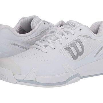 Wilson Rush Pro 2.5 (White/White/Pearl Blue) Men's Tennis Shoes