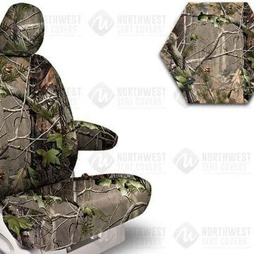 NorthWest Camo Seat Covers, 5th-Row Seat Covers in Realtree AP Green, FF0