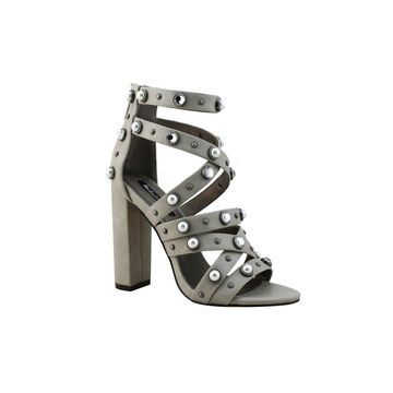 Michael Antonio Womens Turcker Heeled Sandals