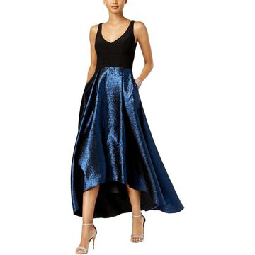 Xscape Womens Hi-Low Formal Evening Dress