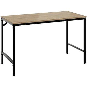 """Safco Simple 46"""" Workstation Desk, Neowalnut (5272BLWL)"""