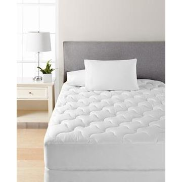 Martha Stewart Collection Quilted California King Mattress Pad, Created for Macy's Bedding
