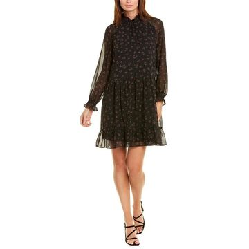 Kensie Chiffon A-Line Dress