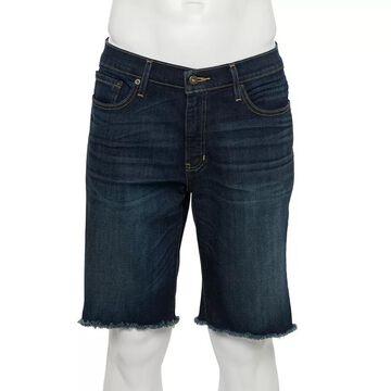 Men's Urban Pipeline Slim-Fit Denim Shorts, Size: 36, Blue