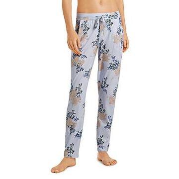 Hanro Sleep & Lounge Printed Knit Long Pants