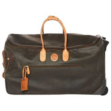Bric's Brown Suede Travel bags