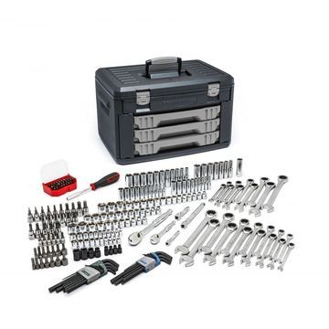 GEARWRENCH 80944 - 232 Pc. Mechanics Tool Set in 3 Drawer Storage Box