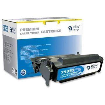 Elite Image Eli-75357 Black Toner Cartridge - Laser - 10000 Page - Black (eli75357)