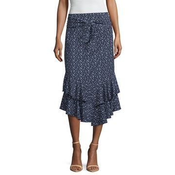 Worthington Womens Flared Skirt