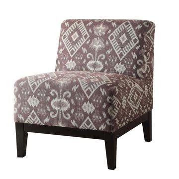 Benzara Modern Chenille Accent Chair | BM151970